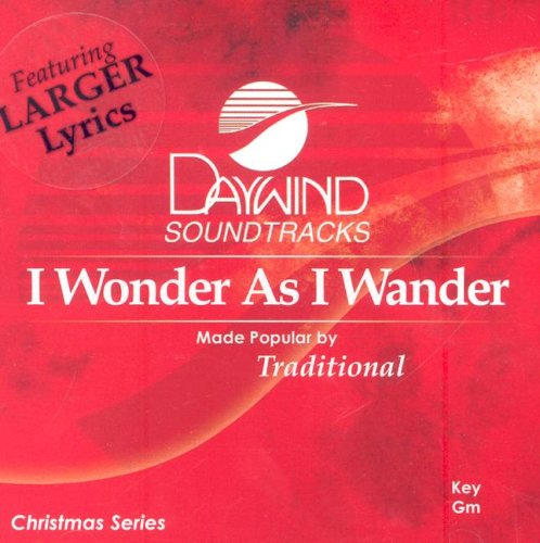 9785557571760: I Wonder as I Wander (Daywind Soundtracks Christmas)