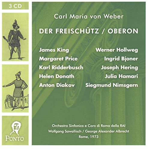 9785558339390: Weber: Der Freischutz / Oberon