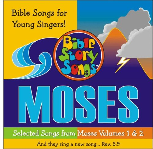 9785558484632: MOSES SONGS FOR YOUNG SINGERS (SING the Bible!)