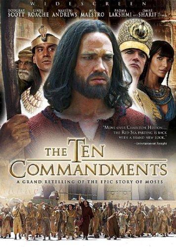 9785558543193: DVD-Ten Commandments: The Complete Miniseries