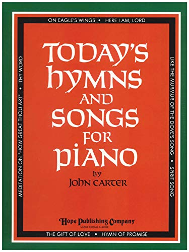 9785558636031: Today's Hymns and Songs for Piano