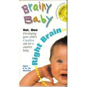 9785558799590: Brainy Baby Vol. One - Right Brain [VHS]