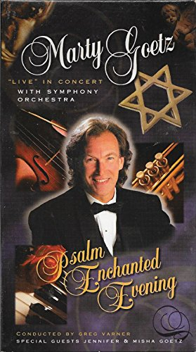 9785558807936: Psalm Enchanted Evening: Marty Goetz Live in Concert [VHS]