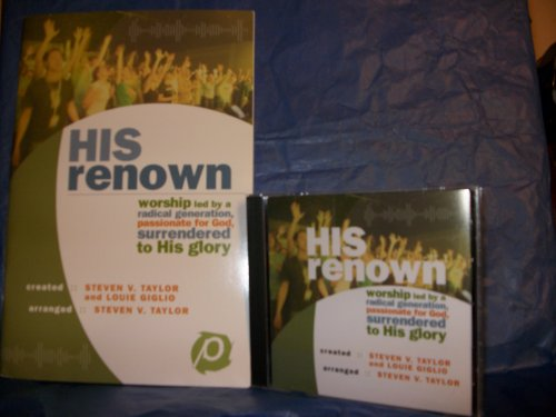9785558827415: His Renown: Worship Led by a Radical Generation, Passionate for God, Surrendered to His Glory: rhythm charts