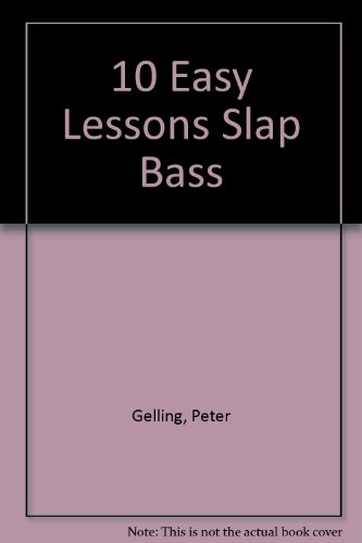 9785559035208: 10 EASY LESSONS SLAP BASS DVD AND BOOKLET IN CASE