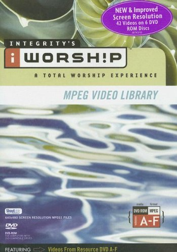 9785559717401: Integrity's iWorship : A Total Worship Experience - MPEG Video Library, A-F