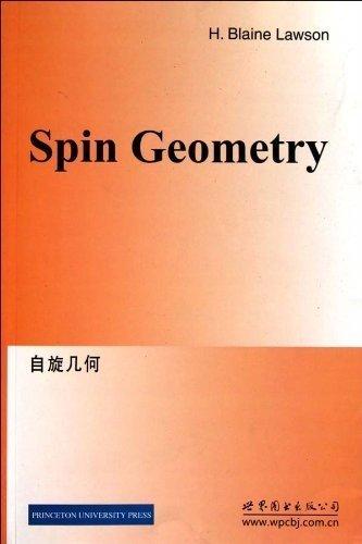 Spin Geometry. (PMS-38) - H. Blaine Lawson; Marie-Louise Michelsohn