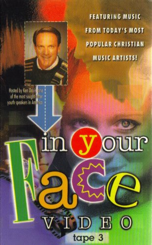9785670705318: In Your Face: Video Tape #3 ~ Today's Most Popular Christian Music Artists