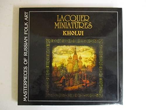 Lacquer Miniatures Kholui Masterpieces of Russian Folk: Kamorin, A