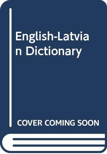 9785797300816: English-Latvian Latvian-English Dictionary / Vārdnīca angļu-latviešu latviešu-angļu