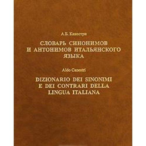 9785869470010: Dictionary synonyms antonyms Italian language Slovar sinonimov i antonimov italyanskogo yazyka
