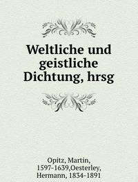 9785872533856: Weltliche und geistliche Dichtung, hrsg