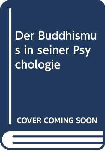 9785873258260: Der Buddhismus in seiner Psychologie