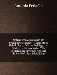 9785873962860: Noticia Del Movimiento De Sociedades Mi