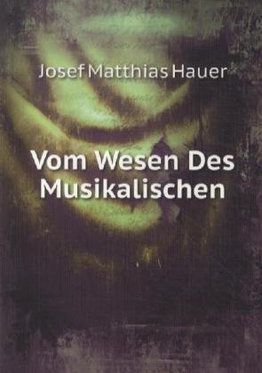 9785874176150: Vom Wesen Des Musikalischen