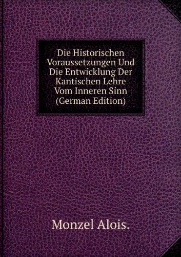 9785874466190: Die Historischen Voraussetzungen Und Di