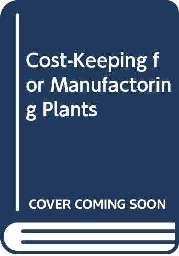 9785875124020: Cost-Keeping for Manufactoring Plants