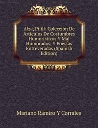 9785875404832: Alza Pilili Colecciã³n De Artãculos De