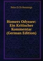 9785876296566: Homers Odyssee: Ein Kritischer Kommentar (German Edition)
