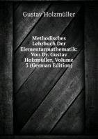 9785876377630: Methodisches Lehrbuch Der Elementarmath