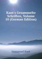 Kants Gesammelte Schriften Volume 10 Ge (9785876601292) by [???]