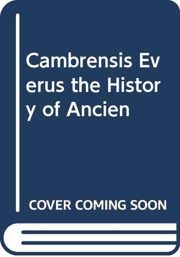 9785876617194: Cambrensis Everus the History of Ancien