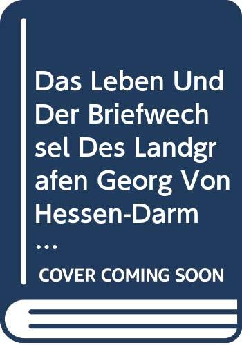 9785876707284: Das Leben Und Der Briefwechsel Des Land
