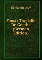 9785876841797: Faust Tragã©die De Goethe German Editio