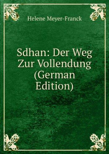 9785877137851: Sdhan Der Weg Zur Vollendung German Edi