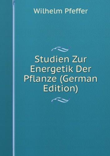 9785877423602: Studien Zur Energetik Der Pflanze (German Edition)