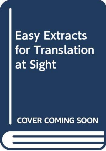 9785878577069: Easy Extracts for Translation at Sight