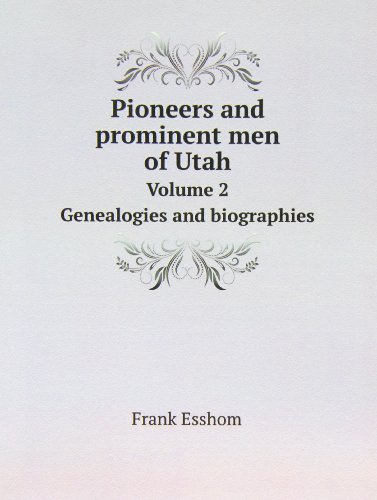 9785879587937: Pioneers and Prominent Men of Utah