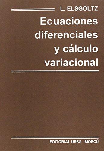 9785884170384: Ecuaciones diferenciales y calculo variacional