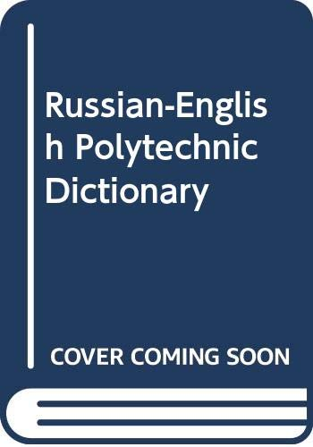 9785887211800: Russian-English Polytechnic Dictionary (Russian Edition)