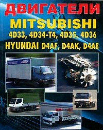 9785888501948: Dvigateli Mitsubishi 4D33, 4D34-T4, 4D35, 4D36. Hyundai D4AF, D4AK, D4AE. Ustroystvo, tehnicheskoe obsluzhivanie i remont
