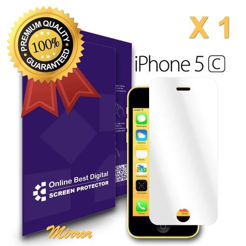 9785891070158: OBiDi - Films de protection d'�cran pour Apple iPhone 5 / 5S / 5C, Miroir - OBD Emballage au D�tail (Pack de 1)