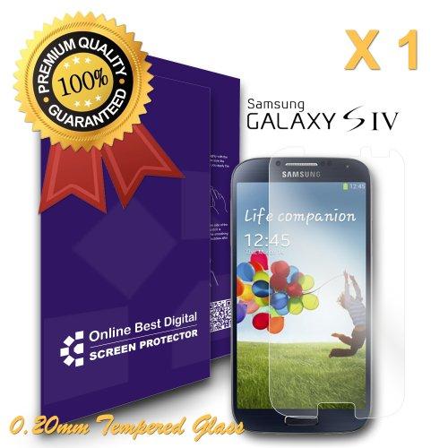 9785891075832: OBiDi - Films de protection d'écran pour Samsung Galaxy S4, Verre Trempé - OBD Emballage au Détail (Pack de 1)