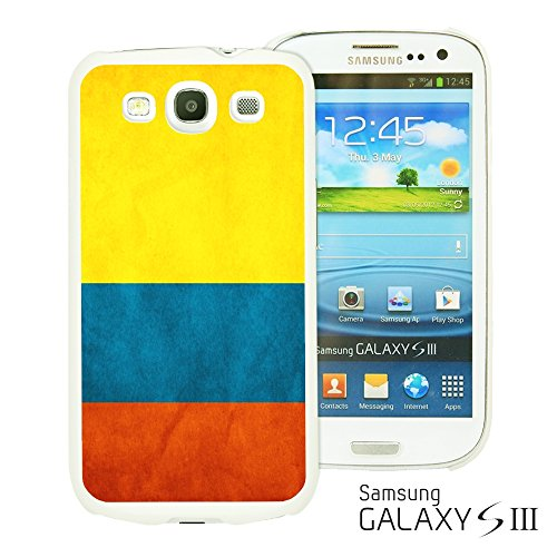 9785891112933: OBiDi - Flag Pattern Hard Back Case / Housse pour Samsung Galaxy S3 III I9300 - Colombia