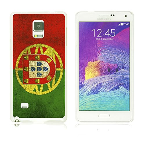 9785891128064: OBiDi - Flag Pattern Hard Back Case for Samsung Galaxy Note 4 - Portugal