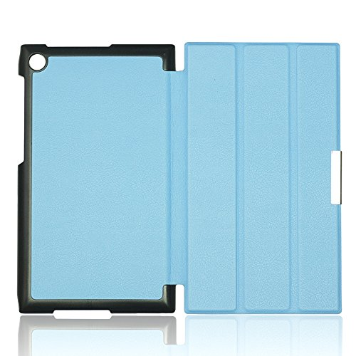 9785891130654: OBiDi - Ultra-Slim Folio Cover Case for ASUS MEMO PAD 7inch(ME572C/CL) - Light Blue