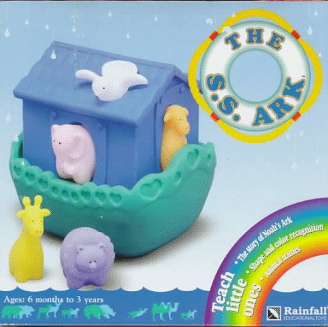 9785900523132: The S.S. Ark: Soft Squeeze Ark and Animals : Teach Little Ones the Story of Noah's Ark