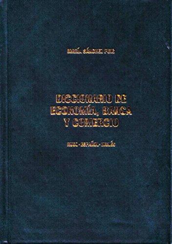 9785933050124: Diccionario de economia, banca y comercio