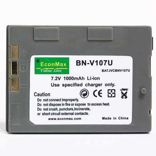 9786000013394: 1000mAh BNV-107 Battery JVC GR-DX57 GR-DX67 GR-DX75 GR-DX75US