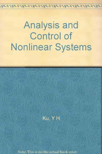 9786001143953: Analysis and Control of Nonlinear Systems
