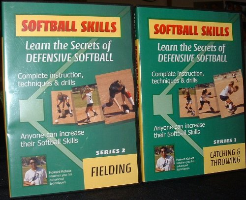 9786001210013: Softball Skills Learn the Secrets of Defensive Softball (Series 1- Catching & Throwing & Series 2- Fielding)