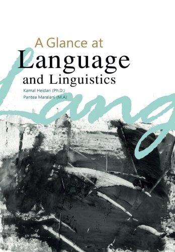 9786006366548: A Glance at Language and Linguistics