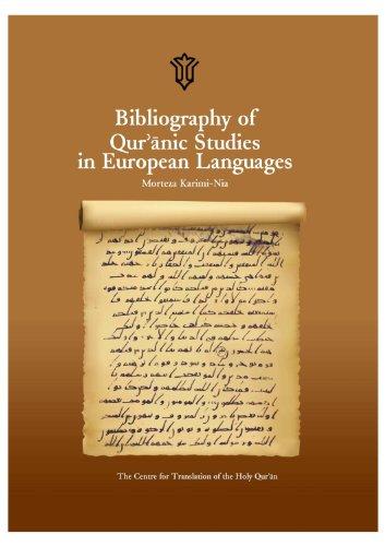 9786009254323: Bibliography of Qur'anic Studies in European Languages