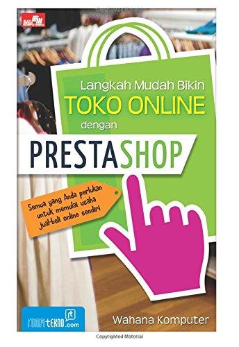 9786020205922: Langkah Mudah Bikin Toko Online dengan PrestaShop (Indonesian Edition)
