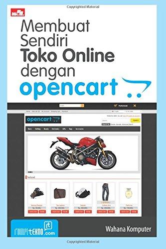 Membuat Sendiri Toko Online dengan Opencart (Indonesian: Wahana Komputer