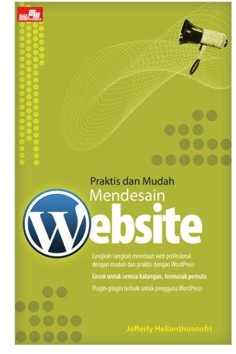 9786020213446: Praktis dan Mudah Mendesain Website (Indonesian Edition)